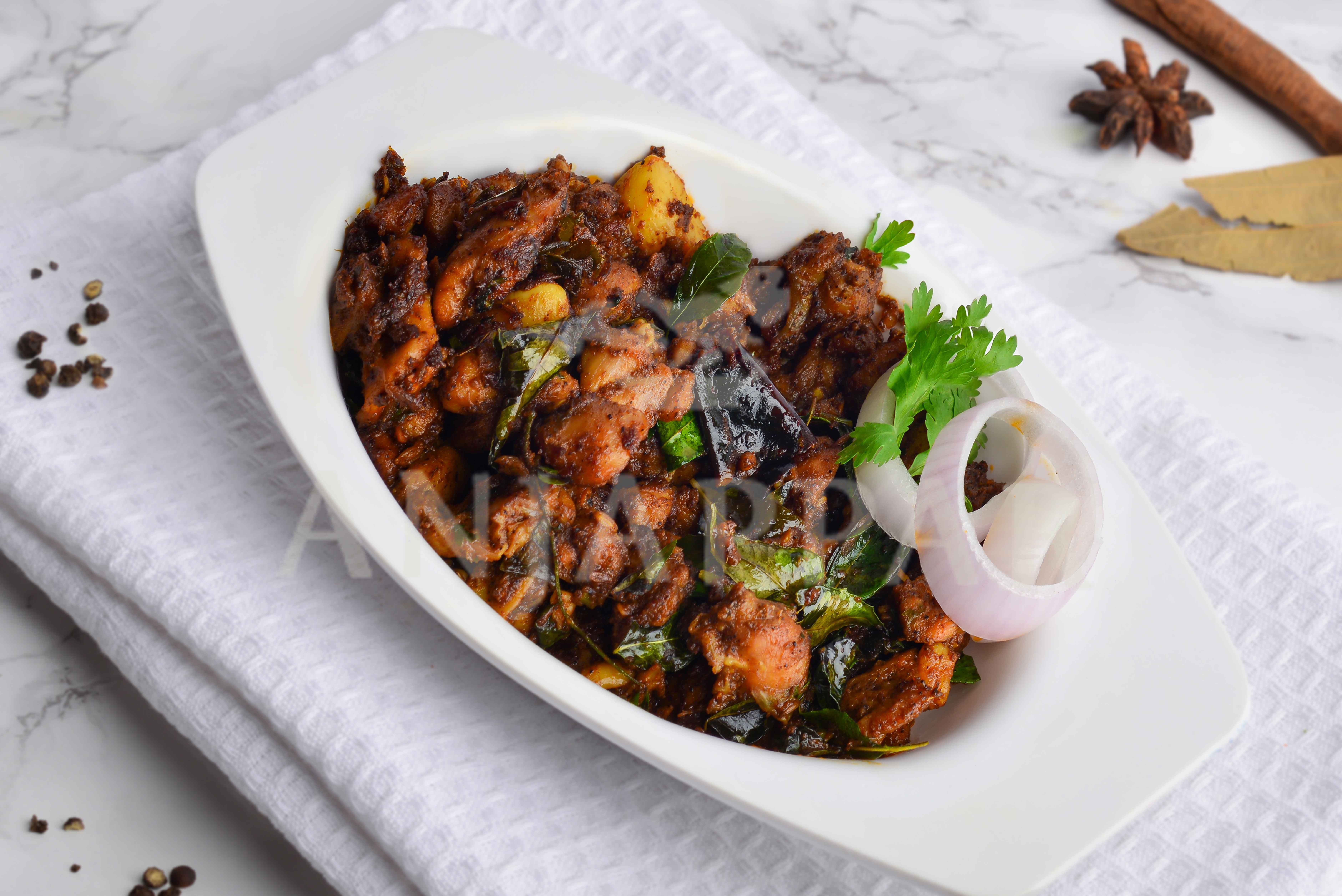 Pepper Chicken Dry